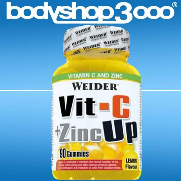 Weider - Vit-C + Zinc Up (90 Gummidrops = 30 Portionen)225g