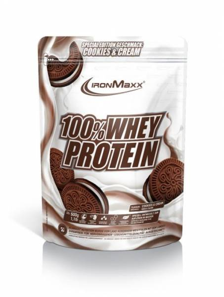 Ironmaxx 100% Whey Protein 500g Limited Edition