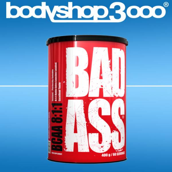 Bad Ass - BCAA 8:1:1 400gr, Himbeere-Limonade