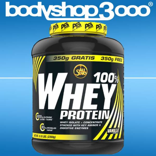 All Stars 100 % Whey Protein 2270g Dose