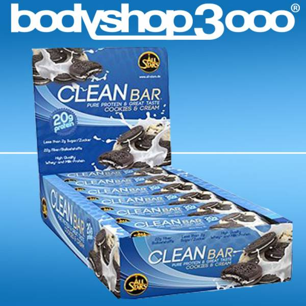 All Stars Clean Bar, 1Riegel á 60 g
