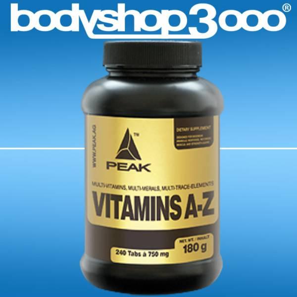 Peak - Vitamins A-Z 180g