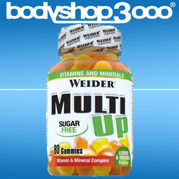 Weider - Multi Up (80 Gummidrops = 40 Portionen) 200g