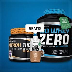 BioTech ISO Whey Zero Protein 2270g + 340g Booster + Zero Shake Gratis