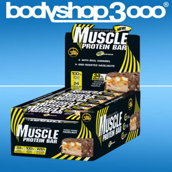 All Stars Muscle Protein Bar 80g / 24Stück