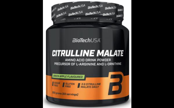 Biotech USA L-Citrulline Malate Green Apple 300 g