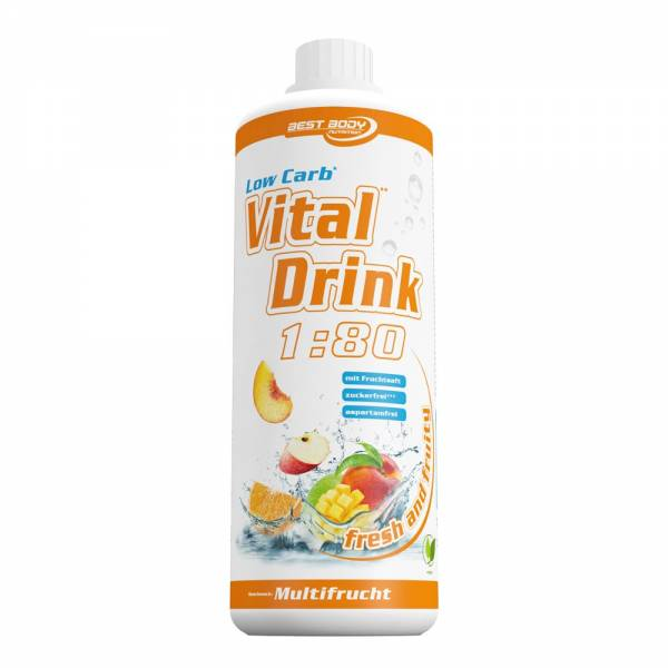 Best Body Nutrition 1 Liter Low Carb Vital Mineral Drink