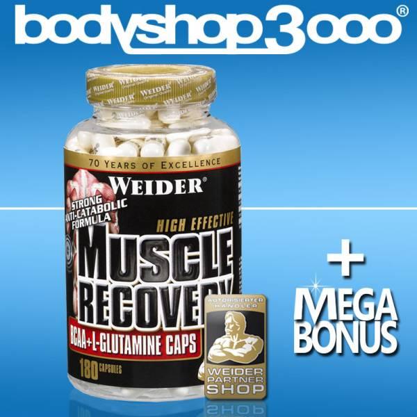 Weider 180 Kapseln BCAA und Glutamin Muscle Recovery