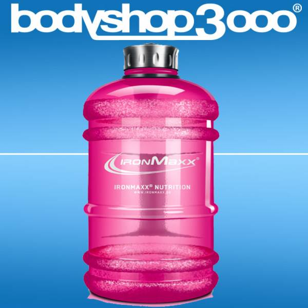 Ironmaxx - Water Gallon 2200ml Pink